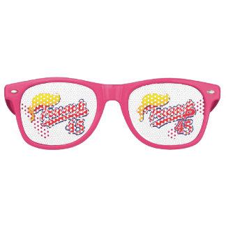 Trump-45-with-Hair Retro Sunglasses