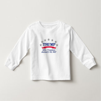Trump 45th President Toddler T-shirt
