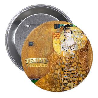Trump 4 President 3 Inch Round Button