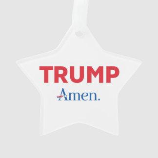 TRUMP Amen. Ornament