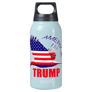 Trump America First Eagle Insulated Water Bottle
