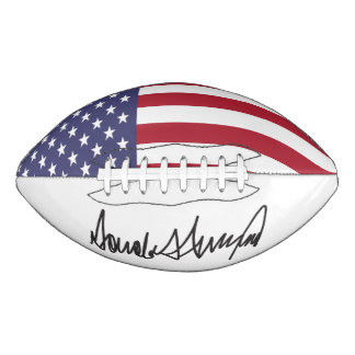 Trump American President 2016 Campaign Football