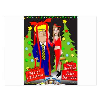 Trump America's Gift Postcard