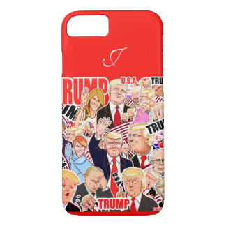 Trump and Melania and your text. President iPhone 8/7 Case