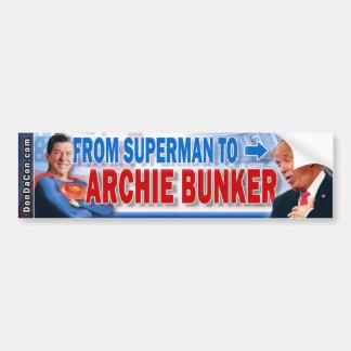 Trump Archie Bumper Sticker