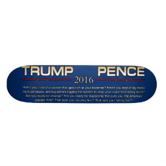 TRUMP ARENT YOU TIRED SKATE DECKS