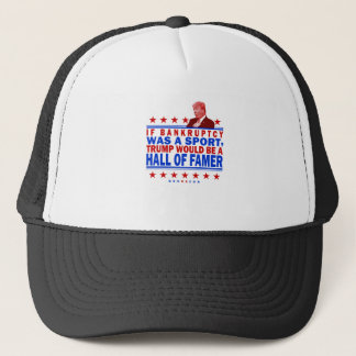 Trump Bankruptcy Hall of Fame Trucker Hat