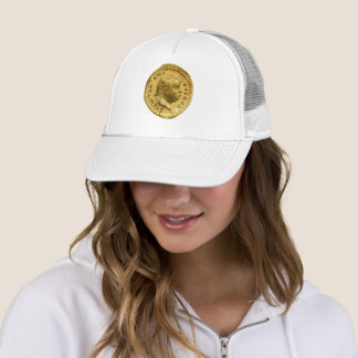 Trump Caesar Coin Awesome Hat