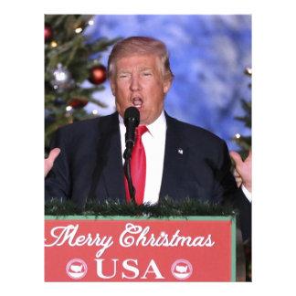 Trump Christmas Letterhead