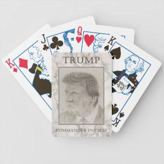 Trump, Commander in Chief Poker Deck