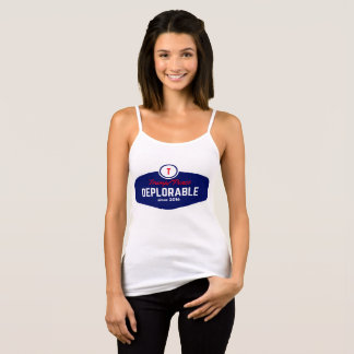 trump deplorable women's simple tank