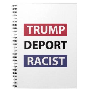 trump design notebooks