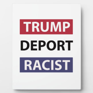 trump design plaque