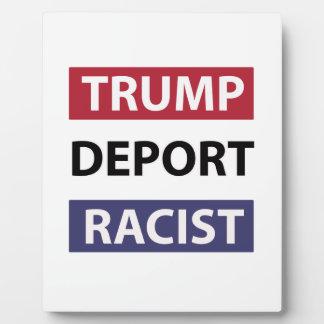 trump design plaque