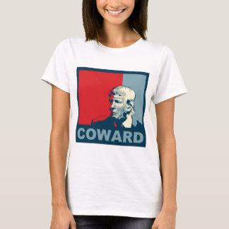 Trump/Drumpf: Coward (Hope colors) T-Shirt
