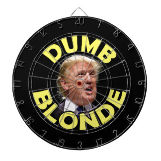 Trump: Dumb Blonde Dartboard