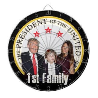 TRUMP First Family Dartboard