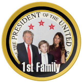 TRUMP First Family Plate