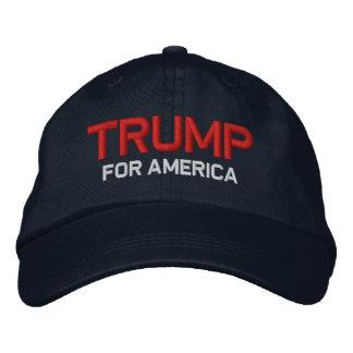 Trump for America Embroidered Baseball Cap