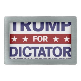Trump for Dictator Rectangular Belt Buckle