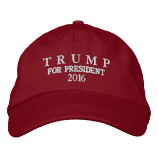 TRUMP FOR PRESIDENT 2016 MEN'S CAP EMBROIDERED HATS
