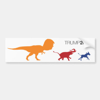 Trump for President 2016 Trumper Sticker