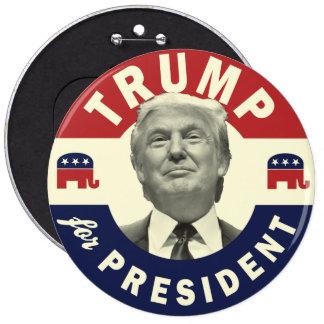 Trump For President Button - Trump 2016 Button