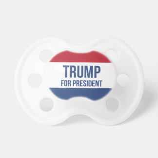 Trump for President Pacifier
