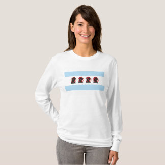 Trump Free Chicago Ladies T-Shirt