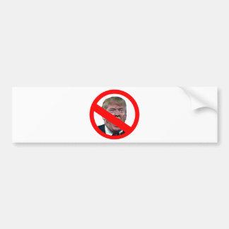 TRUMP FREE: Make America Trump Free Again! Bumper Sticker