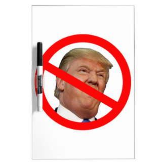 TRUMP FREE:  Make America Trump Free Again! Dry Erase Board