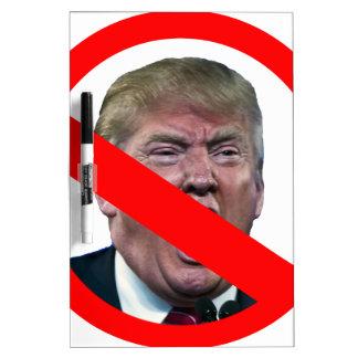 TRUMP FREE: Make America Trump Free Again! Dry Erase Whiteboards