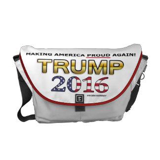 Trump Golden Patriot 2016 medium messenger bag