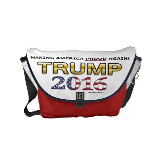 Trump Golden Patriot 2016 small messenger bag