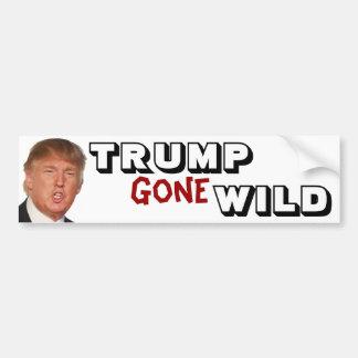 Trump Gone Wild Bumper Sticker