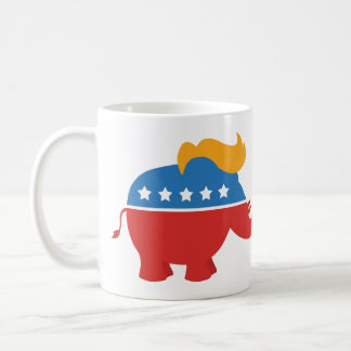 Trump GOP Elephant Coffee Mug