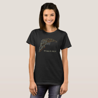 Trump Hair from Infamous Dates in U.S. History T-Shirt