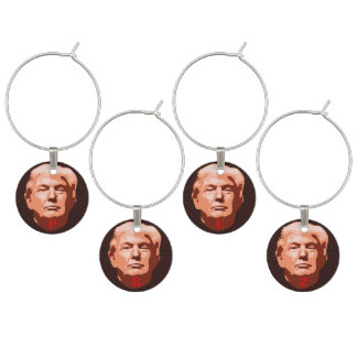 Trump Inauguration 2017 Wine Charm