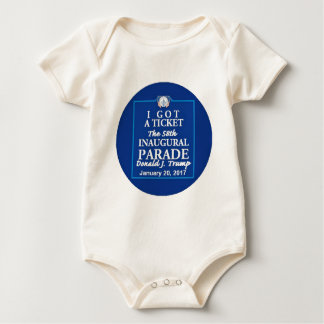 TRUMP Inauguration Baby Bodysuit