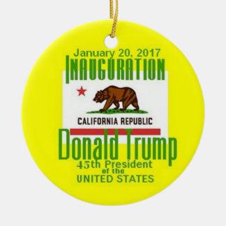 TRUMP Inauguration Ornament