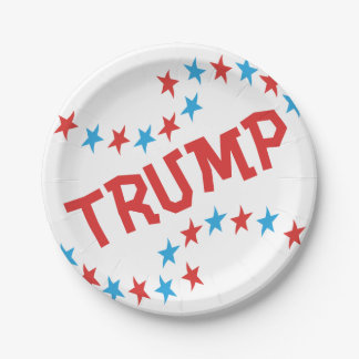 TRUMP Inauguration Paper Plates Party Supplies