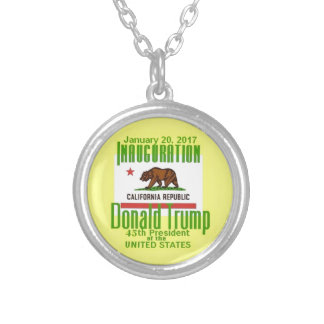 TRUMP Inauguration Silver Plated Necklace