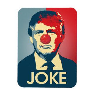 Trump is a Joke - Anti-Trump Propaganda Rectangular Photo Magnet