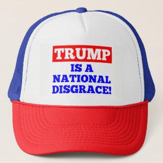 Trump is a National Disgrace Trucker Hat