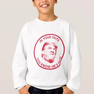 Trump is nuts President 2016 Inaugural Sweatshirt
