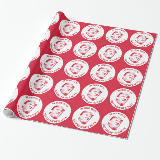 Trump is nuts President 2016 Inaugural Wrapping Paper