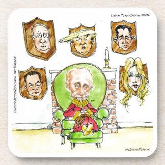 Trump Is Putin On The Ritz Gifts Coaster