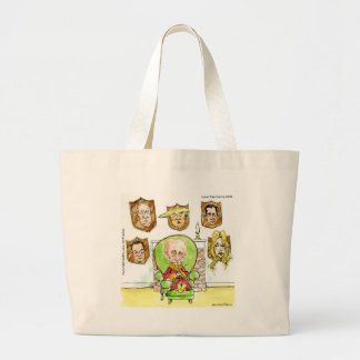 Trump Is Putin On The Ritz Gifts Large Tote Bag