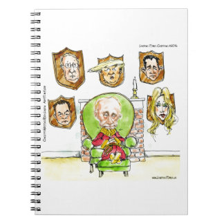 Trump Is Putin On The Ritz Gifts Notebooks