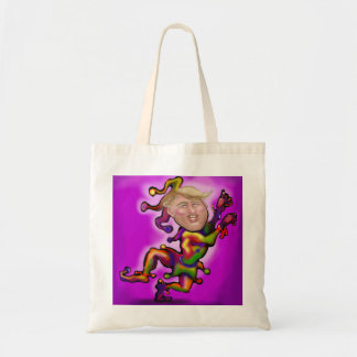 Trump Jester Tote Bag